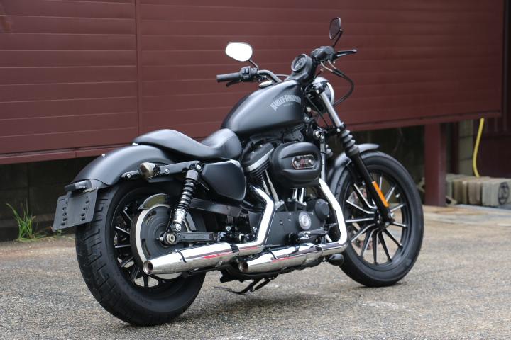 山口県下関市のCRAIZE MOTORCYCLE (クレイズモーターサイクル) のハーレー(Harley-Davidson)販売モデル2014年XL883Nイメージ03