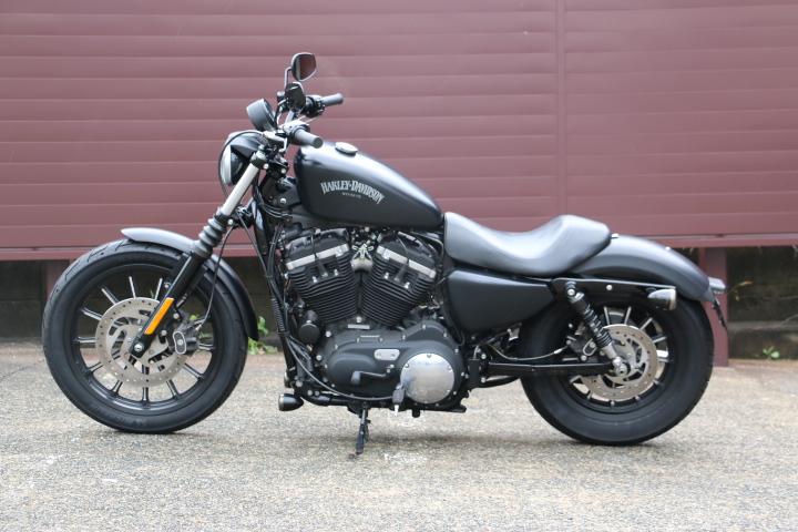 山口県下関市のCRAIZE MOTORCYCLE (クレイズモーターサイクル) のハーレー(Harley-Davidson)販売モデル2014年XL883Nイメージ05
