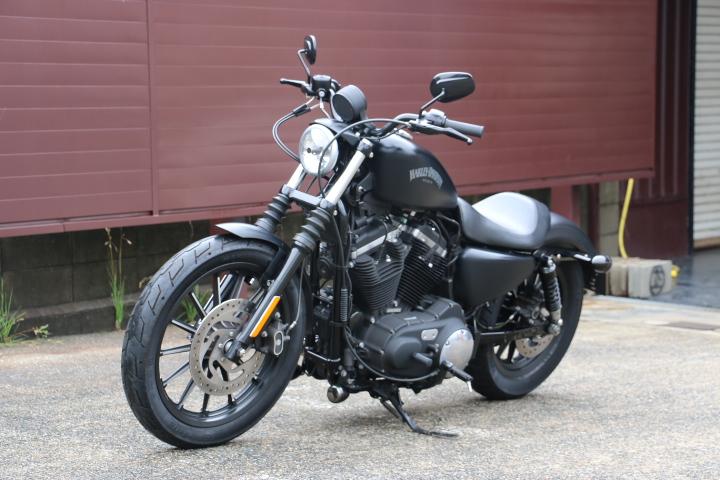 山口県下関市のCRAIZE MOTORCYCLE (クレイズモーターサイクル) のハーレー(Harley-Davidson)販売モデル2014年XL883Nイメージ06