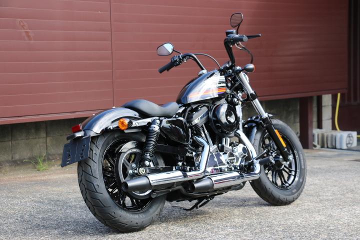 山口県下関市のCRAIZE MOTORCYCLE (クレイズモーターサイクル) のハーレー(Harley-Davidson)販売モデル2018年式XL1200XSイメージ03