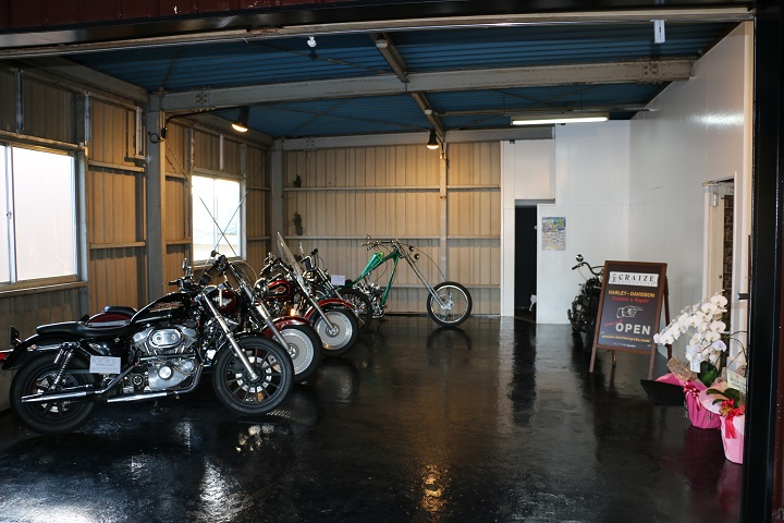 山口県下関市のCRAIZE MOTORCYCLE (クレイズモーターサイクル) のハーレー(Harley-Davidson)や単車販売のサービスイメージ01