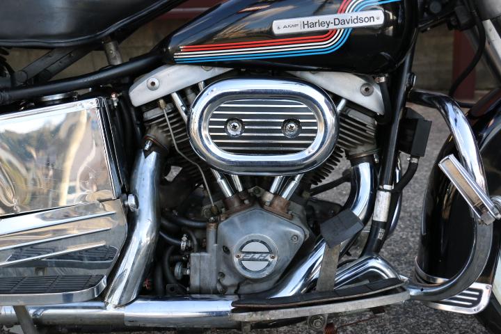 山口県下関市のCRAIZE MOTORCYCLE (クレイズモーターサイクル) のハーレー(Harley-Davidson)販売モデル1975年FLHイメージ04