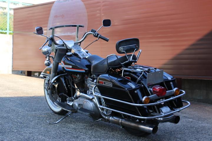 山口県下関市のCRAIZE MOTORCYCLE (クレイズモーターサイクル) のハーレー(Harley-Davidson)販売モデル1975年FLHイメージ07