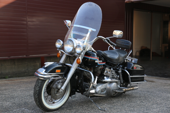 山口県下関市のCRAIZE MOTORCYCLE (クレイズモーターサイクル) のハーレー(Harley-Davidson)販売モデル1975年FLHイメージ06