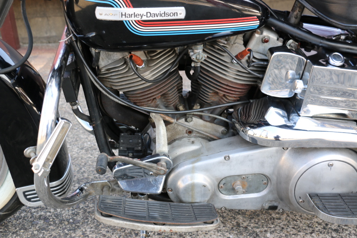山口県下関市のCRAIZE MOTORCYCLE (クレイズモーターサイクル) のハーレー(Harley-Davidson)販売モデル1975年FLHイメージ08