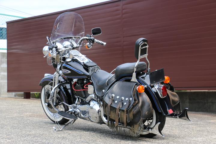 山口県下関市のCRAIZE MOTORCYCLE (クレイズモーターサイクル) のハーレー(Harley-Davidson)販売モデル1998年FLSTSイメージ07