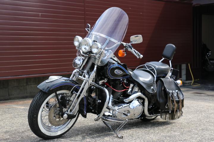 山口県下関市のCRAIZE MOTORCYCLE (クレイズモーターサイクル) のハーレー(Harley-Davidson)販売モデル1998年FLSTSイメージ06