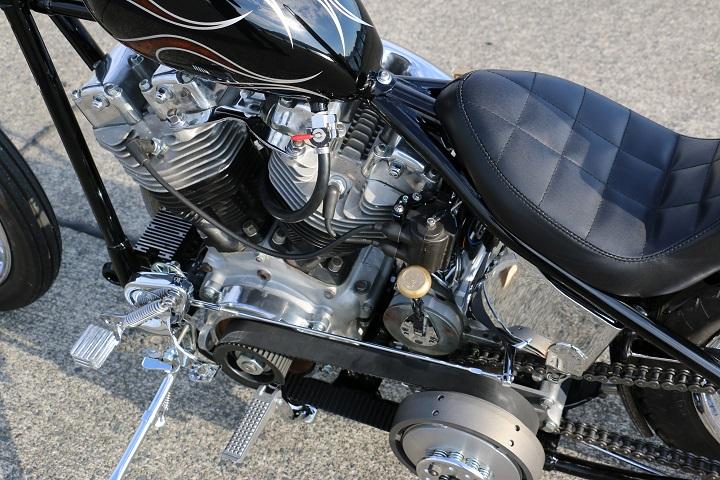 山口県下関市のCRAIZE MOTORCYCLE (クレイズモーターサイクル) のハーレー(Harley-Davidson)カスタム1975年ショベルリジット イメージ09