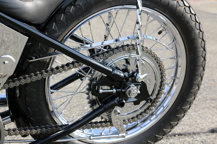 山口県下関市のCRAIZE MOTORCYCLE (クレイズモーターサイクル) のハーレー(Harley-Davidson)カスタム1975年ショベルリジット イメージ08