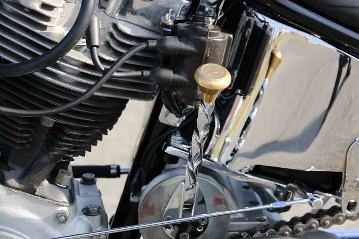 山口県下関市のCRAIZE MOTORCYCLE (クレイズモーターサイクル) のハーレー(Harley-Davidson)カスタム1975年ショベルリジット イメージ07