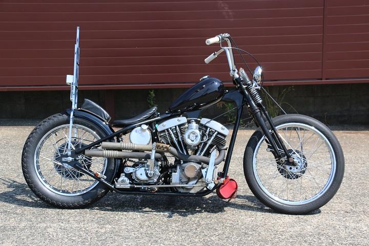 山口県下関市のCRAIZE MOTORCYCLE (クレイズモーターサイクル) のハーレー(Harley-Davidson)カスタム1978年ショベルリジット イメージ02