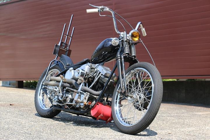 山口県下関市のCRAIZE MOTORCYCLE (クレイズモーターサイクル) のハーレー(Harley-Davidson)カスタム1978年ショベルリジット イメージ01