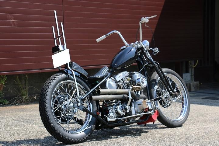 山口県下関市のCRAIZE MOTORCYCLE (クレイズモーターサイクル) のハーレー(Harley-Davidson)カスタム1978年ショベルリジット イメージ03