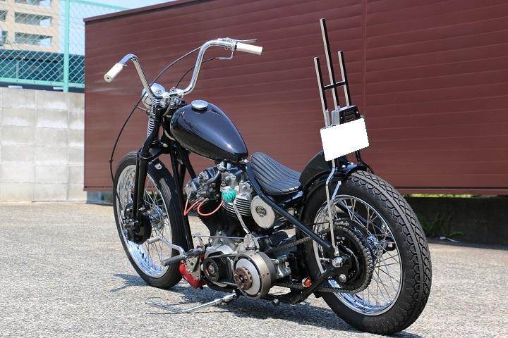 山口県下関市のCRAIZE MOTORCYCLE (クレイズモーターサイクル) のハーレー(Harley-Davidson)カスタム1978年ショベルリジット イメージ04