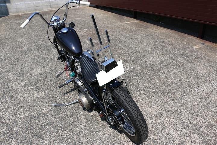 山口県下関市のCRAIZE MOTORCYCLE (クレイズモーターサイクル) のハーレー(Harley-Davidson)カスタム1978年ショベルリジット イメージ05
