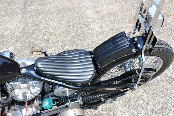 山口県下関市のCRAIZE MOTORCYCLE (クレイズモーターサイクル) のハーレー(Harley-Davidson)カスタム1978年ショベルリジット イメージ06