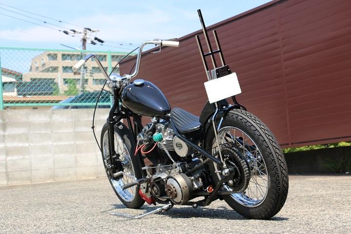 山口県下関市のCRAIZE MOTORCYCLE (クレイズモーターサイクル) のハーレー(Harley-Davidson)カスタム1978年ショベルリジット イメージ07