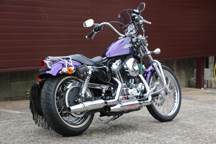 山口県下関市のCRAIZE MOTORCYCLE (クレイズモーターサイクル) のハーレー(Harley-Davidson)販売モデル2014年XL1200Vイメージ03