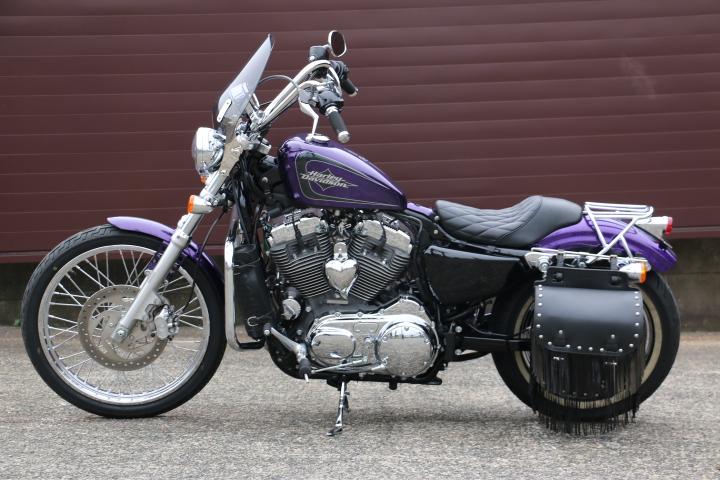 山口県下関市のCRAIZE MOTORCYCLE (クレイズモーターサイクル) のハーレー(Harley-Davidson)販売モデル2014年XL1200Vイメージ05