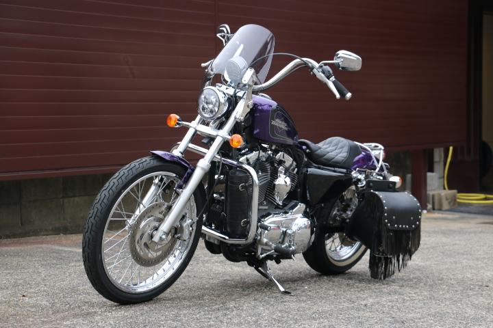山口県下関市のCRAIZE MOTORCYCLE (クレイズモーターサイクル) のハーレー(Harley-Davidson)販売モデル2014年XL1200Vイメージ08