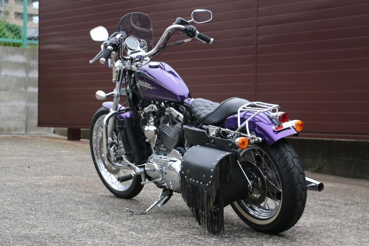 山口県下関市のCRAIZE MOTORCYCLE (クレイズモーターサイクル) のハーレー(Harley-Davidson)販売モデル2014年XL1200Vイメージ07