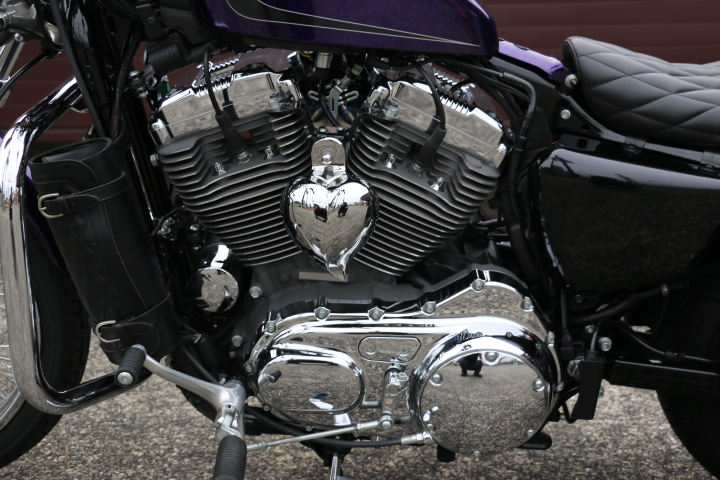山口県下関市のCRAIZE MOTORCYCLE (クレイズモーターサイクル) のハーレー(Harley-Davidson)販売モデル2014年XL1200Vイメージ06