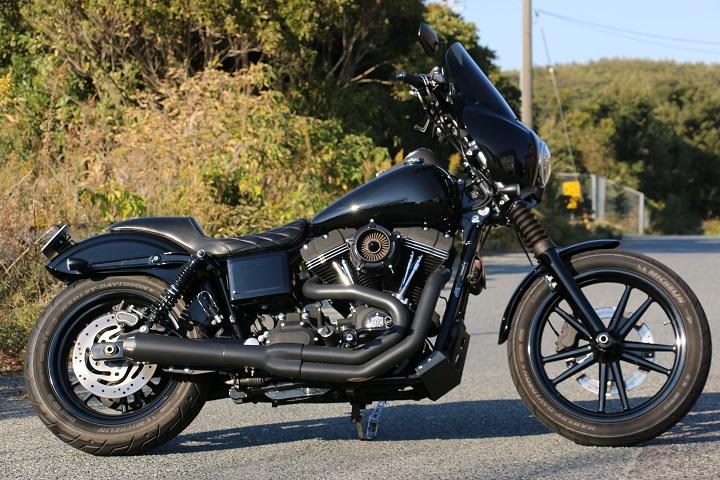 山口県下関市のCRAIZE MOTORCYCLE (クレイズモーターサイクル) のハーレー(Harley-Davidson)カスタム2013年式FXDBイメージ02