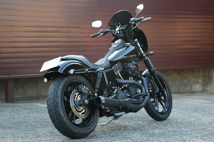 山口県下関市のCRAIZE MOTORCYCLE (クレイズモーターサイクル) のハーレー(Harley-Davidson)カスタム2013年式FXDBイメージ06
