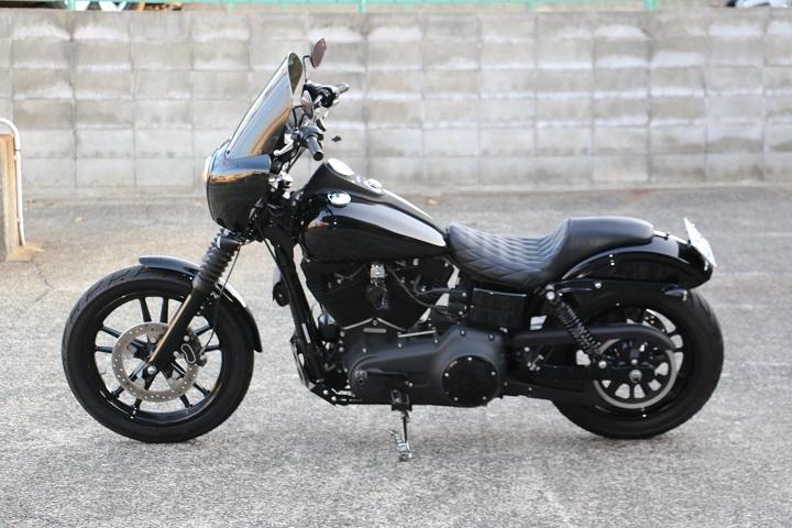 山口県下関市のCRAIZE MOTORCYCLE (クレイズモーターサイクル) のハーレー(Harley-Davidson)カスタム2013年式FXDBイメージ08