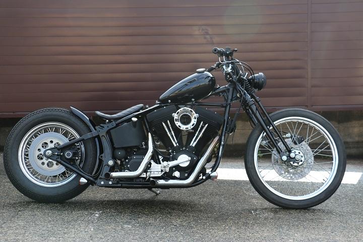 山口県下関市のCRAIZE MOTORCYCLE (クレイズモーターサイクル) のハーレー(Harley-Davidson)カスタム1998年式FXSTBイメージ02