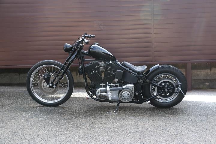 山口県下関市のCRAIZE MOTORCYCLE (クレイズモーターサイクル) のハーレー(Harley-Davidson)カスタム1998年式FXSTBイメージ07