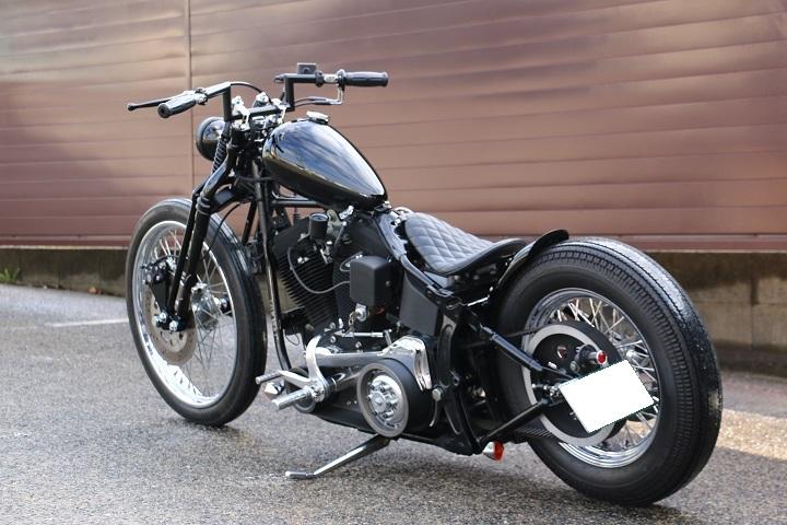 山口県下関市のCRAIZE MOTORCYCLE (クレイズモーターサイクル) のハーレー(Harley-Davidson)カスタム1998年式FXSTBイメージ09