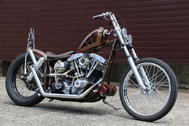 山口県下関市のCRAIZE MOTORCYCLE (クレイズモーターサイクル) のハーレー(Harley-Davidson)カスタム1981年式FXSイメージ01