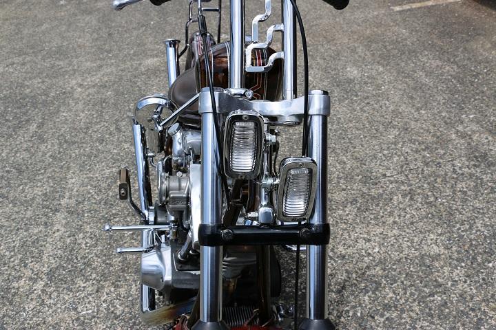 山口県下関市のCRAIZE MOTORCYCLE (クレイズモーターサイクル) のハーレー(Harley-Davidson)カスタム1981年式FXSイメージ07