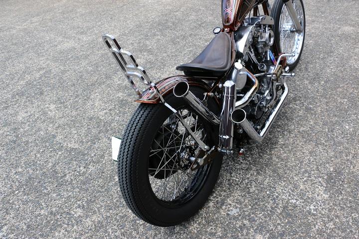 山口県下関市のCRAIZE MOTORCYCLE (クレイズモーターサイクル) のハーレー(Harley-Davidson)カスタム1981年式FXSイメージ15