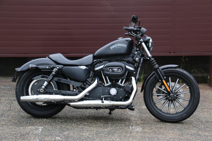 山口県下関市のCRAIZE MOTORCYCLE (クレイズモーターサイクル) のハーレー(Harley-Davidson)販売モデル2014年XL883Nイメージ01
