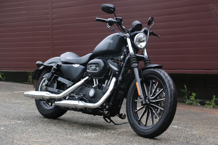 山口県下関市のCRAIZE MOTORCYCLE (クレイズモーターサイクル) のハーレー(Harley-Davidson)販売モデル2014年XL883Nイメージ02