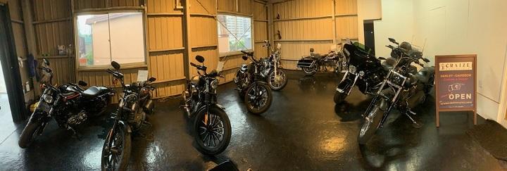 山口県下関市のCRAIZE MOTORCYCLE (クレイズモーターサイクル) のハーレー(Harley-Davidson)やバイク(単車)のオンラインストアご紹介イメージ01