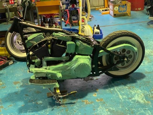 山口県下関市のCRAIZE MOTORCYCLE (クレイズモーターサイクル) のハーレー(Harley-Davidson)やバイク(単車)を扱うお店のおすすめなスポット01